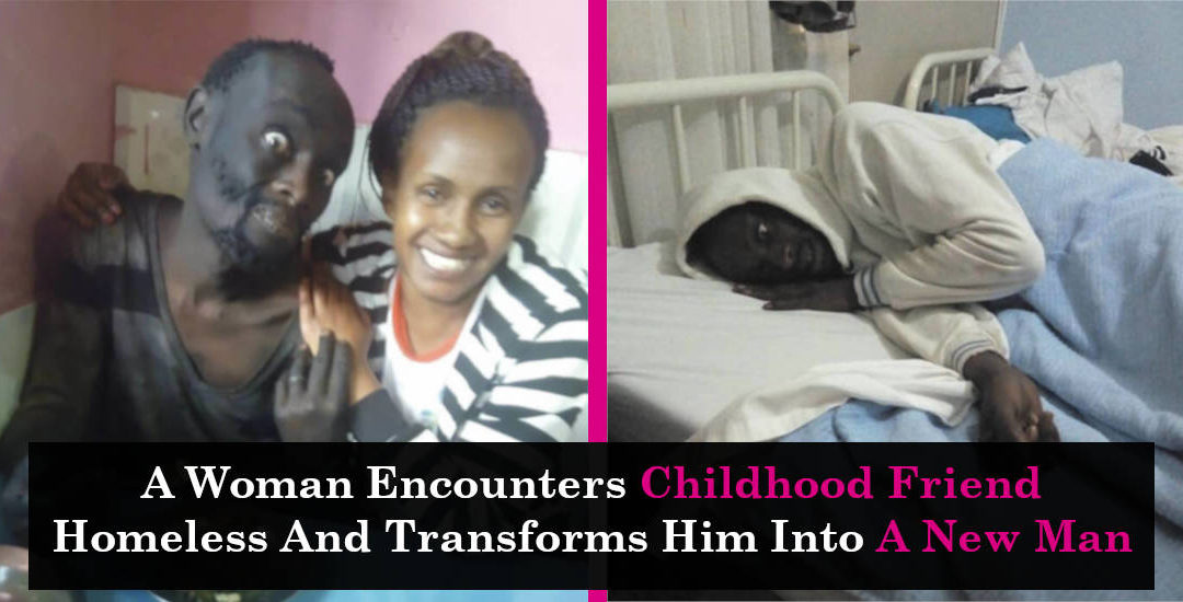 A Woman Encounters Childhood Friend Homeless And Transforms Him Into A New Man